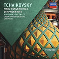 PIANO CONCERTO NO.1 - SYMPHONY NO.4 - B-moll zongoraverseny; 4. szimfónia - CD
